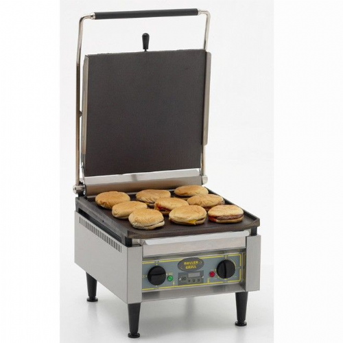 Roller Grill PANINI XLE Extra Large Single - Flat Top & Base Plates Contact Grills